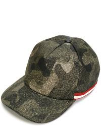 Gorra de béisbol verde oliva de Bally