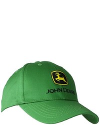 Gorra de béisbol verde de John Deere