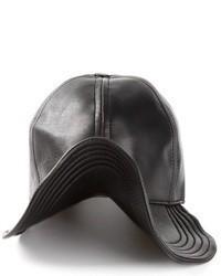 Gorra inglesa de cuero negra de Kokon To Zai