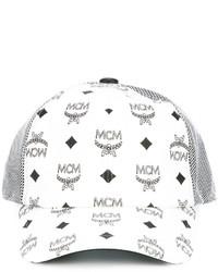 Gorra Inglesa Estampada Blanca de MCM