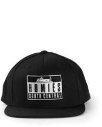 Gorra inglesa estampada en negro y blanco
