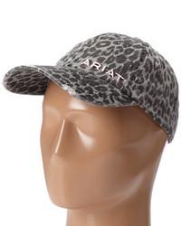 Gorra inglesa estampada gris