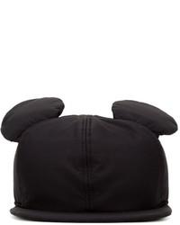 Gorra inglesa negra de Federica Moretti