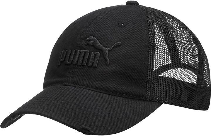 Gorra Inglesa Negra de Puma