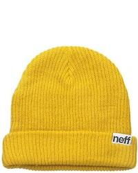 Gorro amarillo de Neff