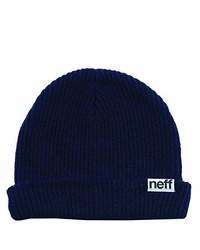 Gorro azul marino de Neff