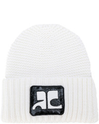 Gorro blanco de Courreges