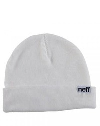 Gorro blanco de Neff