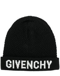 Gorro de punto negro de Givenchy