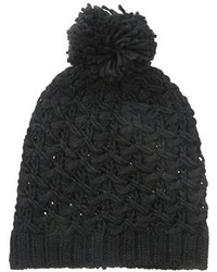 Gorro de Punto Negro de Nine West