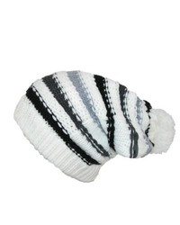 Gorro de rayas horizontales blanco