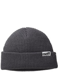 Gorro en gris oscuro de Neff