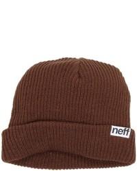 Gorro en marrón oscuro de Neff