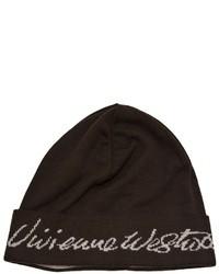 Gorro en marrón oscuro de Vivienne Westwood