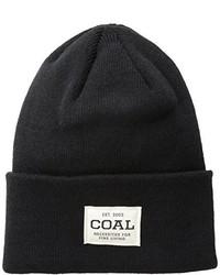Gorro negro de Coal