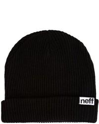 Gorro negro de Neff