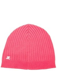 Gorro rosa de Courreges