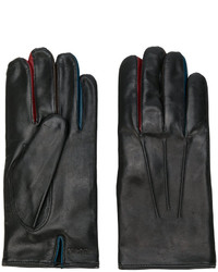 Guantes de Lana en Marrón Oscuro de Paul Smith