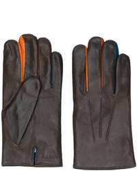 Guantes de Lana Marrónes de Paul Smith