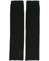 Guantes de lana negros de Juun.J