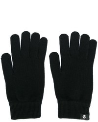 Guantes de lana negros de Paul Smith