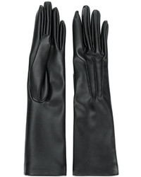 Guantes largos negros de Stella McCartney