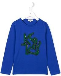 Jersey azul de Kenzo