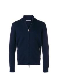 Jersey con cremallera azul marino de Cenere Gb
