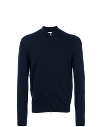 Jersey con cremallera azul marino de Fashion Clinic Timeless