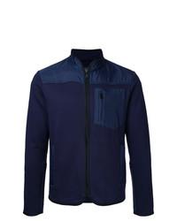 Jersey con cremallera azul marino de Kent & Curwen