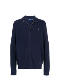 Jersey con cremallera azul marino de Polo Ralph Lauren