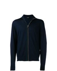 Jersey con cremallera azul marino de Ps By Paul Smith