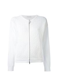 Jersey con cremallera blanco de Fabiana Filippi