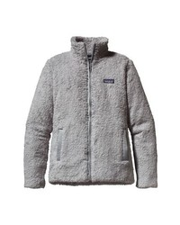 Jersey con cremallera de forro polar gris