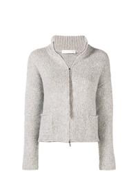 Jersey con cremallera gris de Fabiana Filippi
