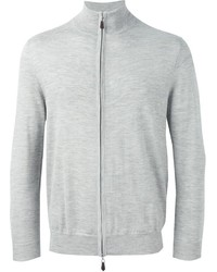 Jersey con cremallera gris de N.Peal