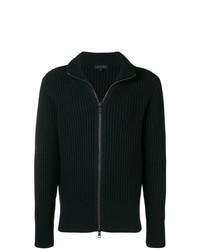 Jersey con cremallera negro de Ann Demeulemeester