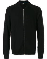 Jersey con cremallera negro de Paul Smith