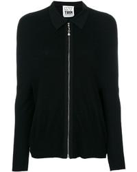 Jersey con cremallera negro de Twin-Set