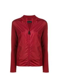 Jersey con cremallera rojo de Canada Goose