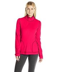 Jersey con cremallera rosa