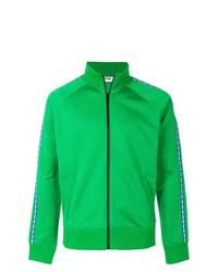 Jersey con cremallera verde de MSGM