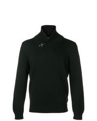 Jersey con cuello chal negro de Fay