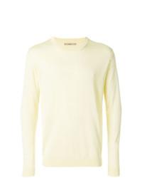 Jersey con cuello circular amarillo de Nuur