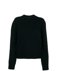Jersey con cuello circular azul marino de Calvin Klein 205W39nyc