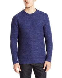 Jersey con Cuello Circular Azul Marino de Calvin Klein