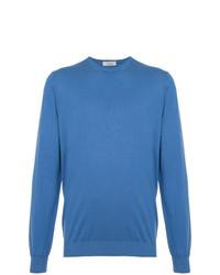 Jersey con cuello circular azul de Laneus