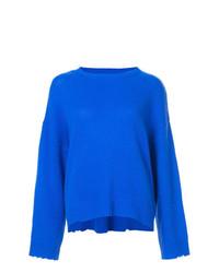 Jersey con cuello circular azul de RtA
