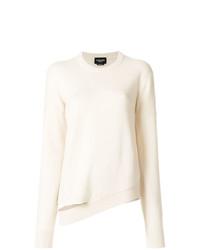 Jersey con cuello circular blanco de Calvin Klein 205W39nyc