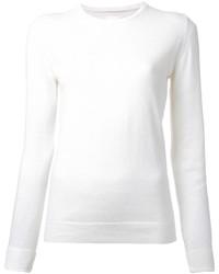 Jersey con cuello circular blanco de CITYSHOP